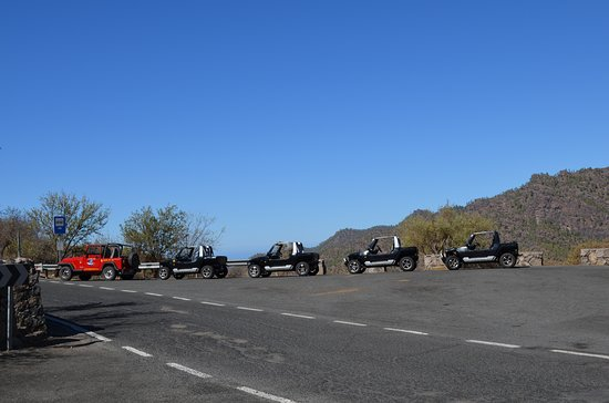 Beetle Convertible Tour in Gran Canaria: Lekker touren met een club!