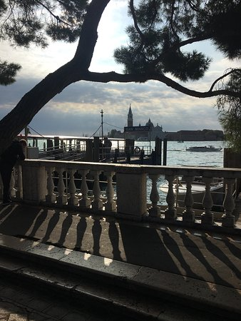 Legendary Venice St. Mark's Basilica and Doge's Palace Group or Private Tour: The Grand Canal from St Mark's Square early morning.
