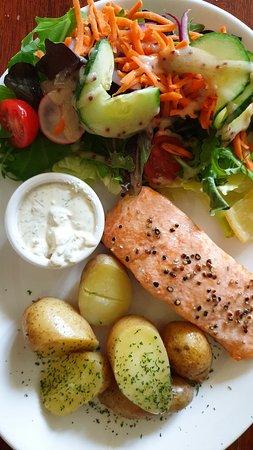 Struy, UK: salmon