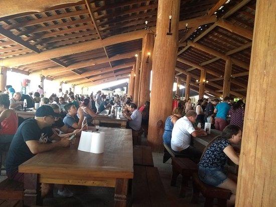 Salto de Pirapora, SP: Restaurante