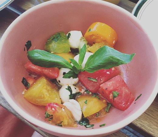 Mini salade tomates-mozza