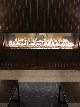 fire in lobby