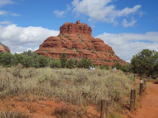 Beautiful views, nice hiking trail
