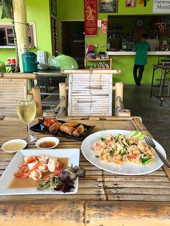 Ko Samui, Thajsko: Кафе Moonlight