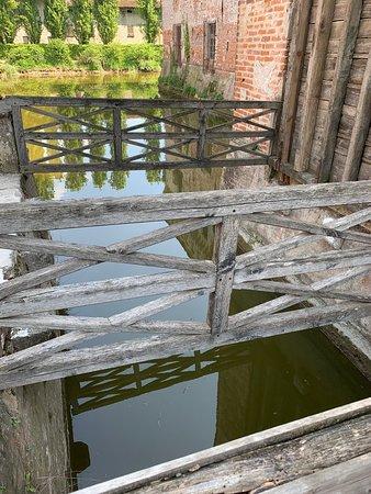 moat and drawbridge