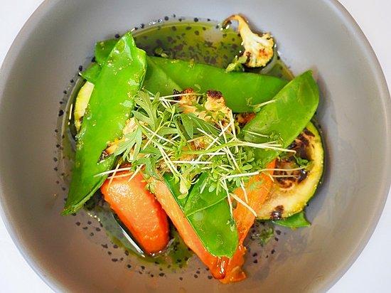 Příloha - grilovaná zelenina.