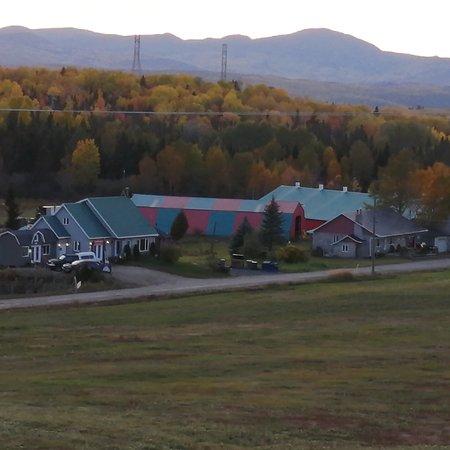 Saint-Hilarion, Canada: Notre ferme et boutique situé à St-Hilarion