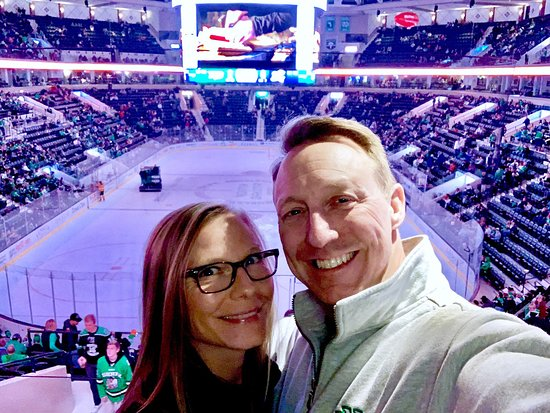 Another awesome night of UND hockey in Ralph's House! UND WINS! Oct.11th,2019