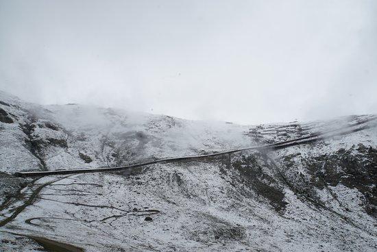 On our way up to Gornergrat