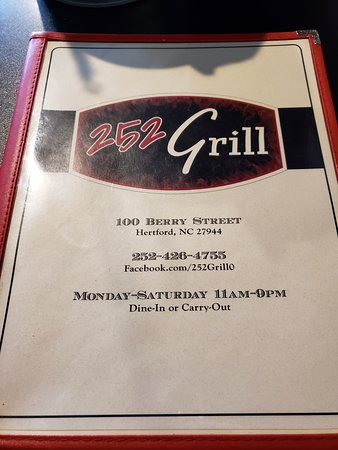 Hertford, NC: 252 grill
