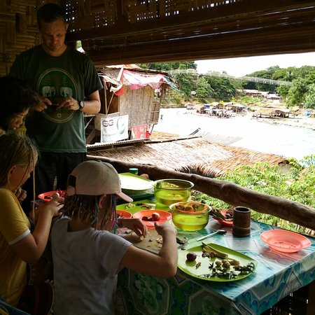 Bukit Lawang, Indonesia: Our daily cooking class