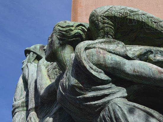 Страсбург. Памятник генералу Леклерку. Фрагмент