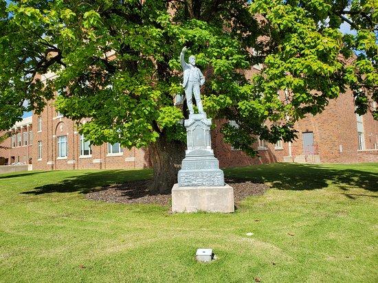 Richard Parks Bland Statue