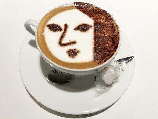 藝妓娃娃拉花咖啡