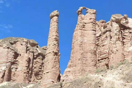 Privat vandringstur: Binggou Danxia och Zhangye Danxia Geopark från ...