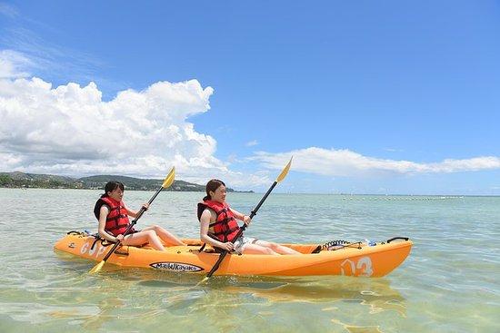 Excursión en kayak y snorkel