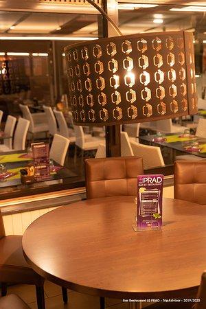 Détail salle restaurant intérieure