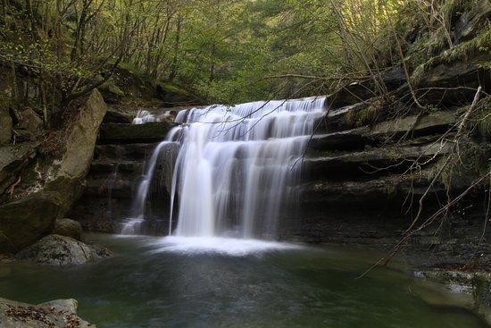 San Benedetto in Alpe, Ιταλία: Cascate lungo il sentiero dell'acquacheta