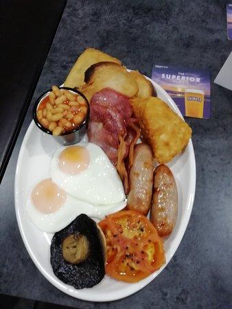 The medium breakfast!!