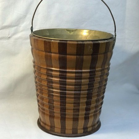 A stylish peat bucket would look great by your fireplace!