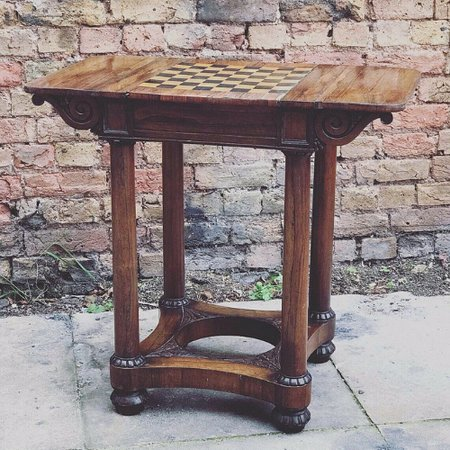 A stunning games table for Christmas games.  A great gift.