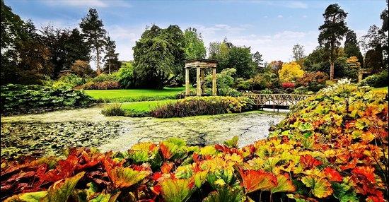 Lovely gardens.