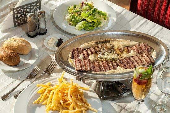 Entrecote Cafe De Paris Riyadh Menu Prices