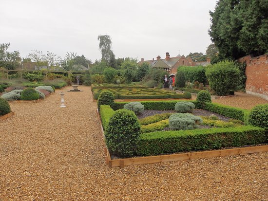 Buckden Towers: The Knot Garden