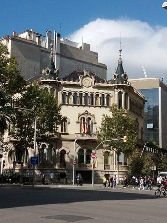 Barcelone, Espagne : Casa Perez Samanillo