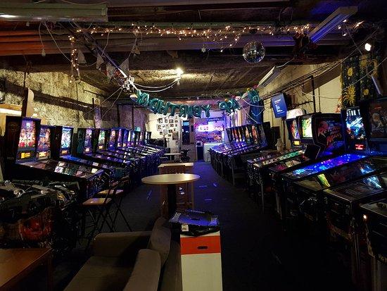 RePlay pinball arcade Malmo