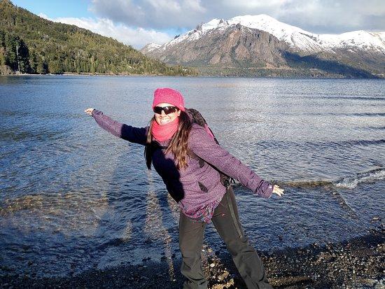 San Carlos de Bariloche, Argentinien: Lago Gutierrez.