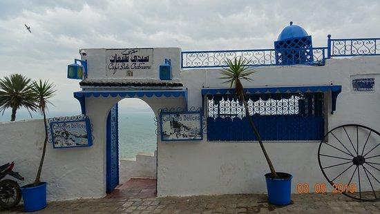 Sidi Bou Saïd, Café des Délices. Mai 2019
