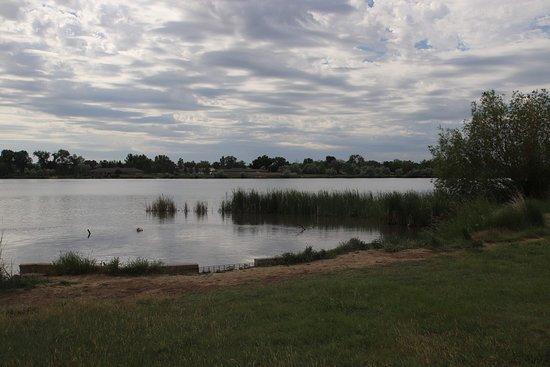 The lake was so beautiful!