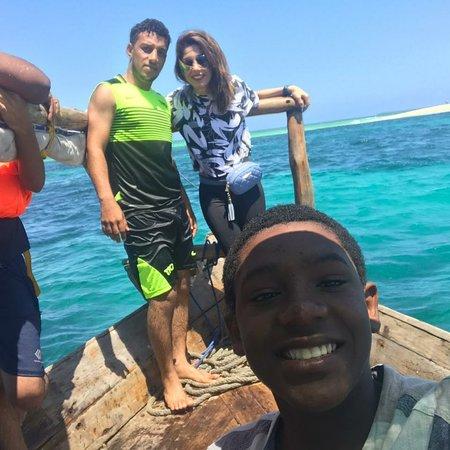 Fumba, Tanzánia: Safari blue, one of the best trip in Zanzibar