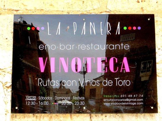 La Panera (Eno - Bar - Restaurante - Vinoteca)