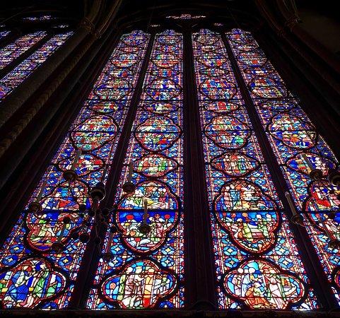 Paris Sainte Chapelle in Palais de la Cité Skip the Line Entrance Ticket: Upper Chapel stained glass window