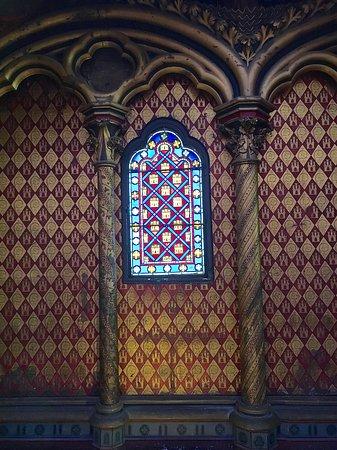 Paris Sainte Chapelle in Palais de la Cité Skip the Line Entrance Ticket: Detail in Upper Chapel