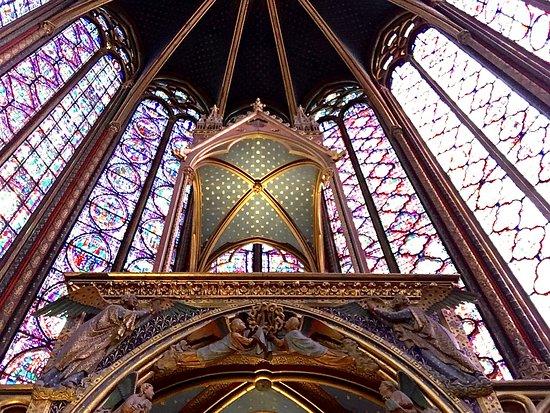 Paris Sainte Chapelle in Palais de la Cité Skip the Line Entrance Ticket: Upper Chapel