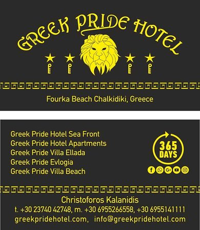 Skala Fourkas, Hellas: Greek Pride Hotel