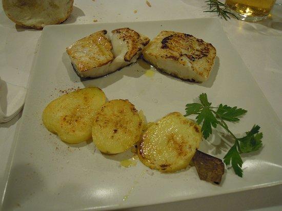 bacalao expectacular salado