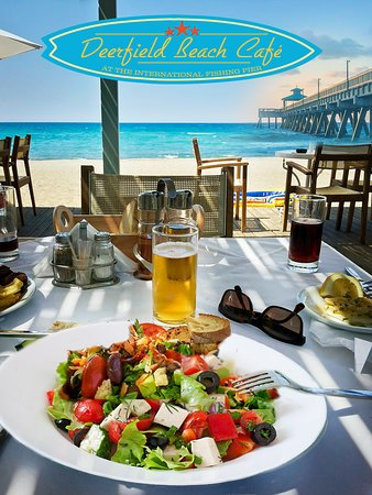 Deerfield Beach Cafe - Enjoy delicious food beachside!