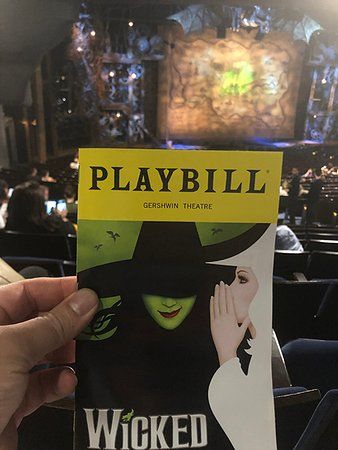 Wicked on Broadway Ticket: Wicked Official Programme