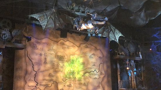 Wicked on Broadway Ticket: Stage & Props