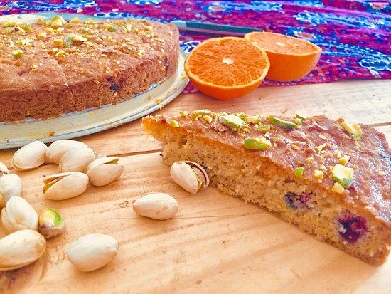 Gluten free, healthy and tasty Pistachio cake