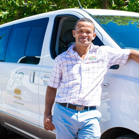 Franschhoek, South Africa: Our vehicles and guides