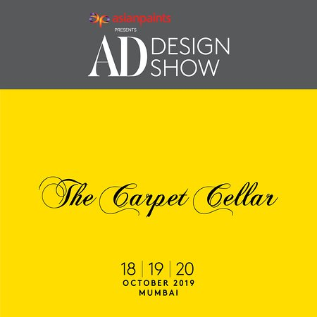 The Carpet Cellar & Architectural Digest are delighted to invite you to the second edition of the AD Design Show, Mumbai's luxury art and design fair, from 18-20th October 2019 at the Dome@NSCI, SVP Stadium, Worli, Mumbai. We are pleased to welcome you to our stand no A44. Look forward to seeing you there.