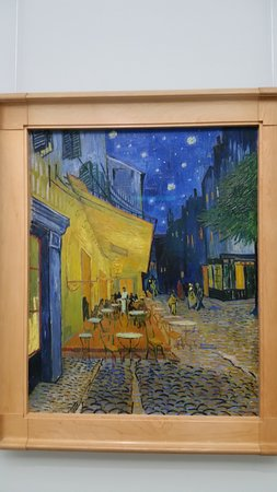 Kroller-Muller Museum and Hoge Veluwe National Park: The Cafe at Night by Van Gogh
