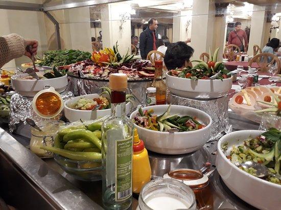 Egypt Nile Cruise: Luxor to Aswan: terrible buffete