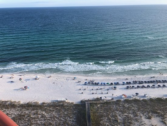 Balcony view from 19 D in Beach Colony East