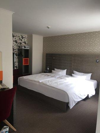 Schlafbereich Zimmer 613 penta plus